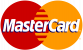 We accept MasterCard and MasterCard Electronic