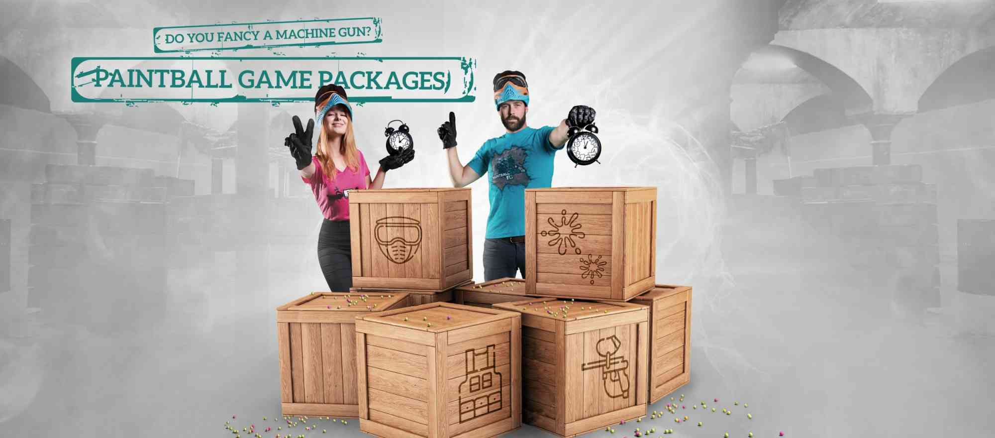 Paintball game packages